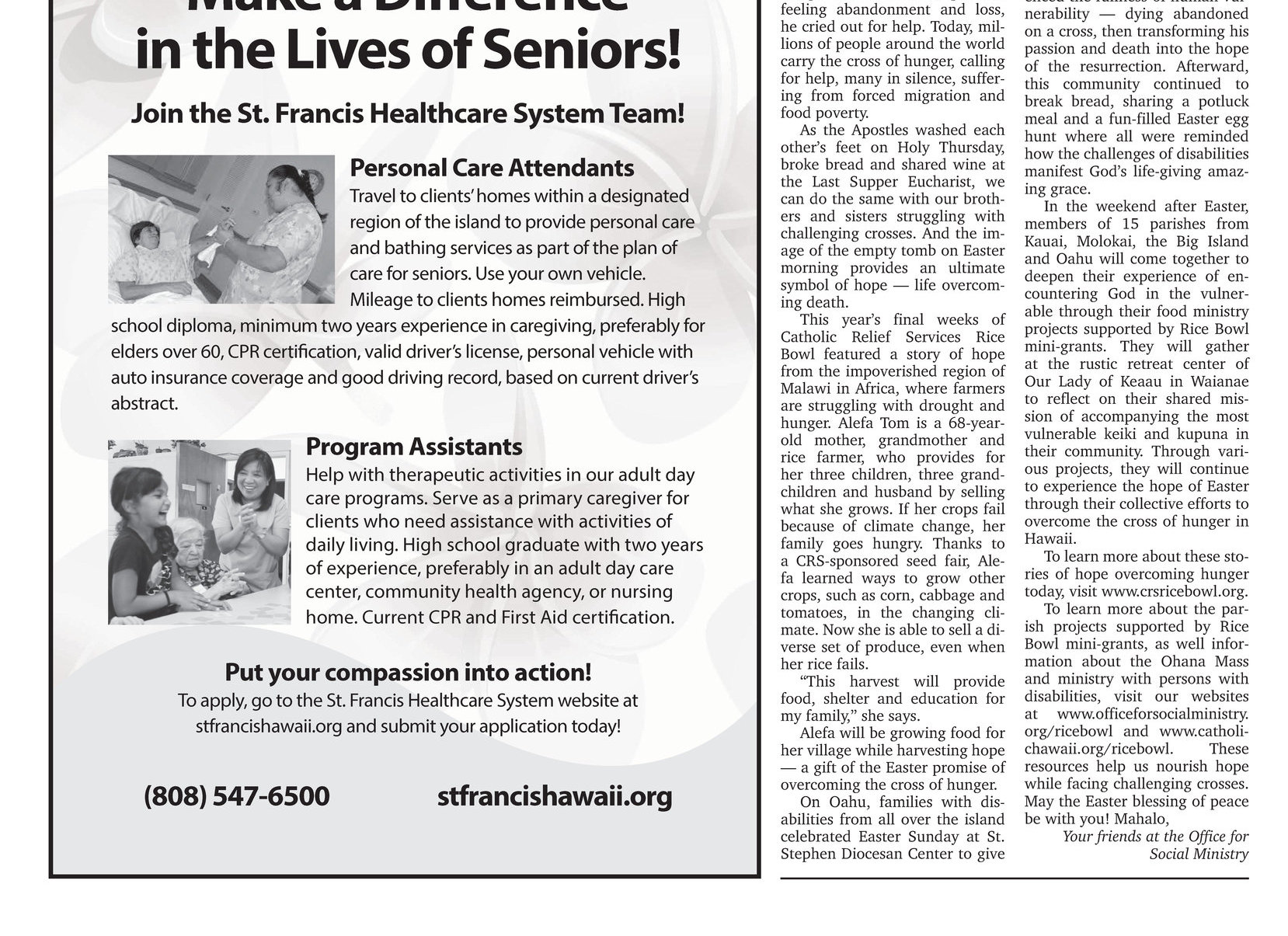 Hawaii Catholic Herald 04 06 2018 E Edition Page 9